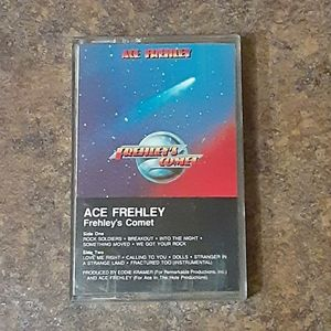 """Ace Frehley """"Frehley's Comet"""" Cassette Tape"""